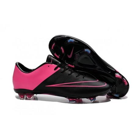 2016 Nike Mercurial Vapor X FG - Soccer Cleats For Men Black Hyper Pink