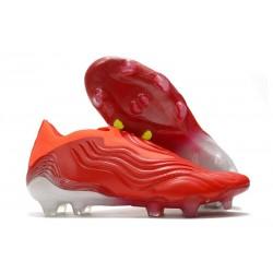 adidas Copa Sense+ FG Meteorite - Red Footwear White Solar Red