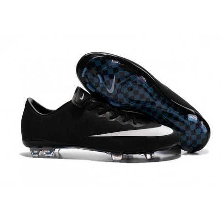 2016 Nike Mercurial Vapor X FG - Soccer Cleats For Men Black White Hyper Turq