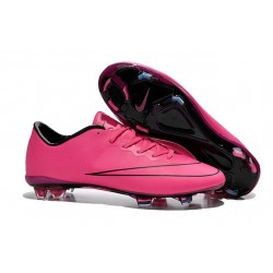 2016 Nike Mercurial Vapor X FG - Soccer Cleats For Men Hyper Pink Black