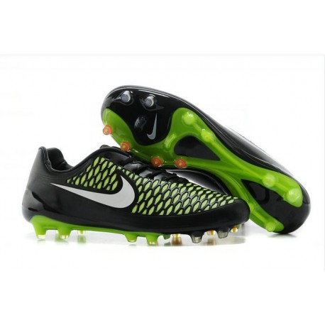 2016 Nike Magista Opus Men's Firm-Ground Soccer Cleats Black White Green