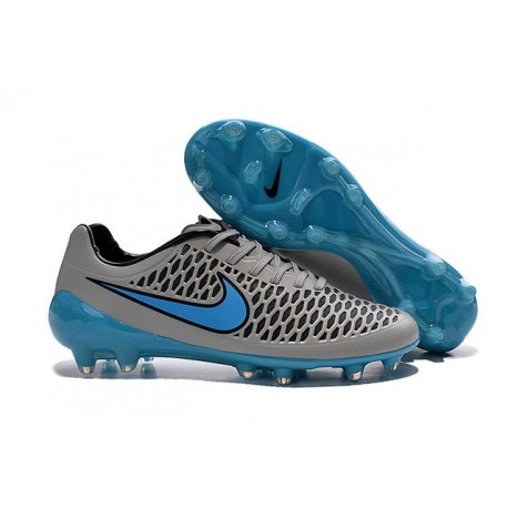 New Nike Magista Opus FG Football Boots - Low Price - Wolf Grey Turquoise Blue Black
