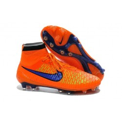2016 New Soccer Shoes - Nike Magista Obra FG Orange Violet