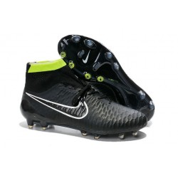 2016 New Soccer Shoes - Nike Magista Obra FG Black Volt White