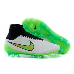 Best Nike Magista Obra FG Shoes For Men White Green Black