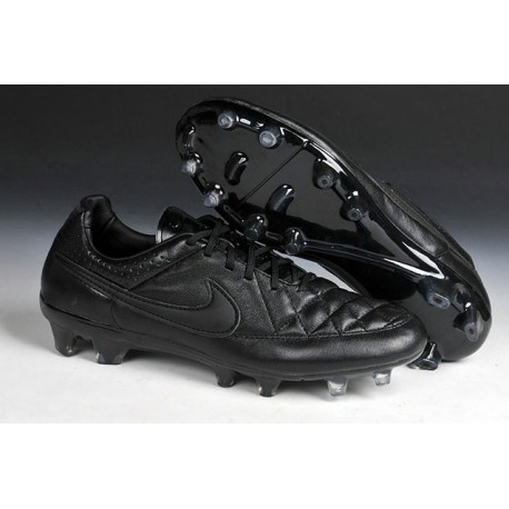 Australia En cantidad Post impresionismo  Nike Football Boots For Men - Tiempo Legend V FG all Black