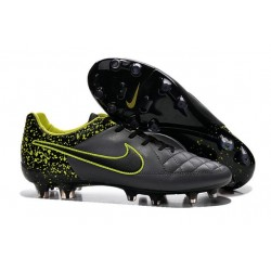 2016 Nike Tiempo Legend V FG - Best Soccer Cleats Anthracite Black Volt