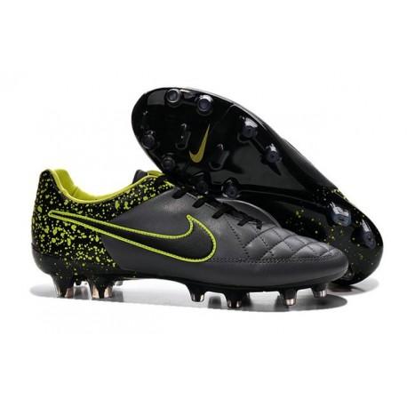 2016 Nike Tiempo Legend V FG - Best Soccer Cleats Anthracite Black Volt