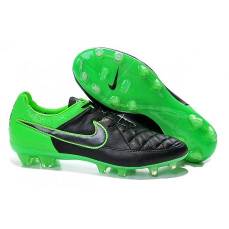 Nike Football Boots For Men - Tiempo Legend V FG Green Black