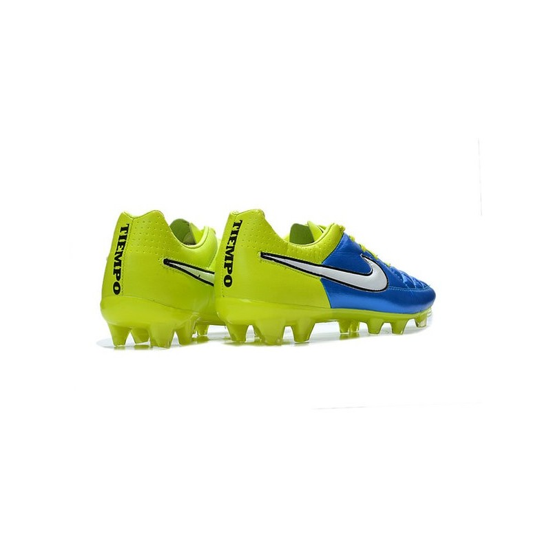 cb29cd57eb6b Nike Football Boots For Men - Tiempo Legend V FG Blue Volt White