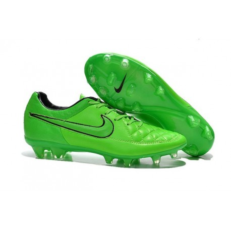 2016 Nike Tiempo Legend V FG - Best Soccer Cleats Green Strike Black