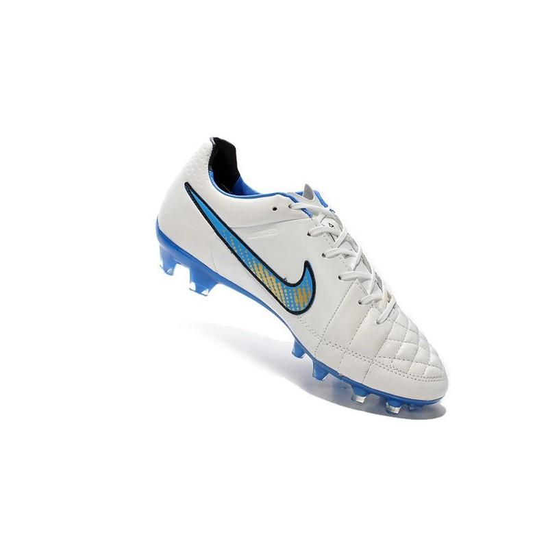 2016 nike tiempo legend v fg best soccer cleats white blue