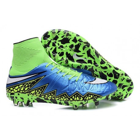 Nike Hypervenom 2 Phantom Men's Nike Football Cleats Blue Lagoon White Volt Black