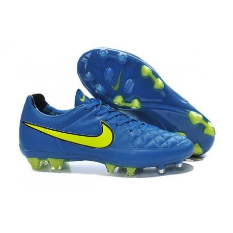 Nike Football Boots For Men - Tiempo Legend V FG Soar Volt Black
