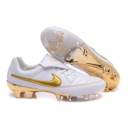 2016 Nike Tiempo Legend V FG - Best Soccer Cleats Tiempo R10 White Golden