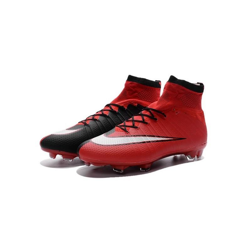 new styles 2ed6d f0b01 ... sale nike sort mercurial superfly fg sort nike rød sko 603c47 43c06  91c24
