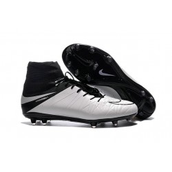2016 Best Nike Hypervenom Phantom II Soccer Shoes Light Bone Black