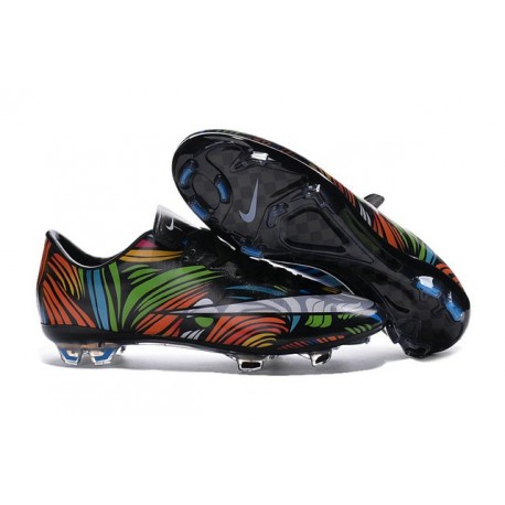 New Shoes - Nike Mercurial Vapor 10 FG Footballl Shoes Black White Green Blue Orange Pink Yellow