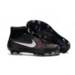 Best Nike Magista Obra FG Shoes For Men BHM Black White Blue Red