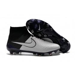 2016 New Soccer Shoes - Nike Magista Obra FG Leather Light Bone Light Bone Black Black