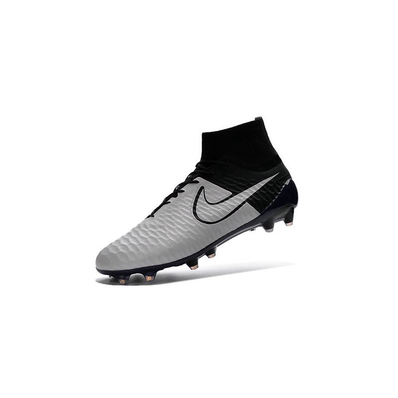 2016 new soccer shoes nike magista obra fg leather light bone light bone black black. Black Bedroom Furniture Sets. Home Design Ideas