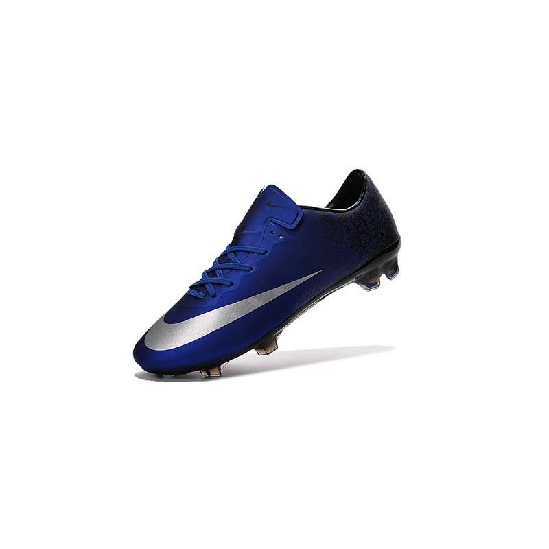 a3b16fa20b0d New Shoes - Nike Mercurial Vapor 10 FG Footballl Shoes Deep Royal Blue  Metallic Silver Racer Blue