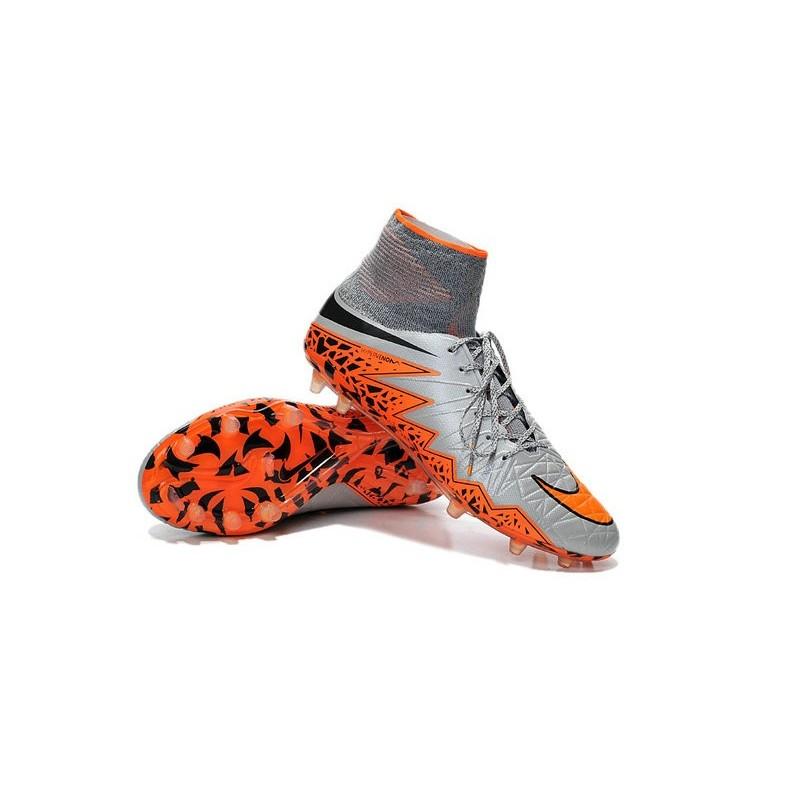... 2016 best nike hypervenom phantom ii soccer shoes wolf grey black  orange ...