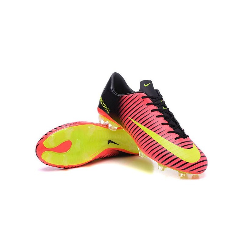 070d960a872a Shoes For Men - Nike Mercurial Vapor 11 FG Soccer Football Total Crimson  Volt Black Pink Blast