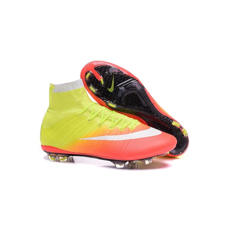 new nike mercurial superfly iv fg soccer boots yellow. Black Bedroom Furniture Sets. Home Design Ideas