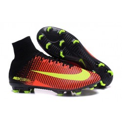 Cleats 2016 - Shoes Nike Mercurial Superfly V FG Total CrimsonVolt Pink Blast