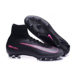 Cleats 2016 - Shoes Nike Mercurial Superfly V FG Pitch Dark Pack - Black Pink Blast