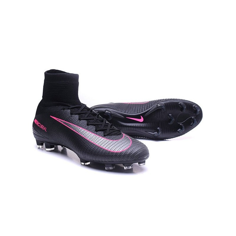 8a9c36a5bd0 ... Shoes Nike Mercurial Superfly V FG Pitch Dark Pack - Black Pink Blast  Maximize. Previous. Next