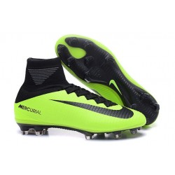 New Soccer Cleats - New Nike Mercurial Superfly 5 FG Black Green