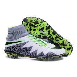 Nike Hypervenom 2 Phantom Men's Nike Football Cleats White Green Grey Black
