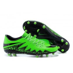 2016 Nike Men's Hypervenom Phinish II FG Soccer Boots - Green Black