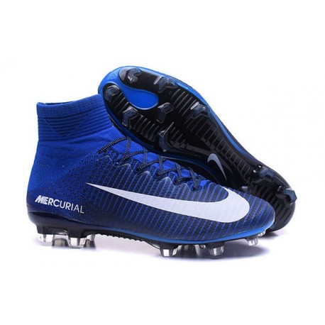 New Soccer Cleats - New Nike Mercurial Superfly 5 FG Blue White