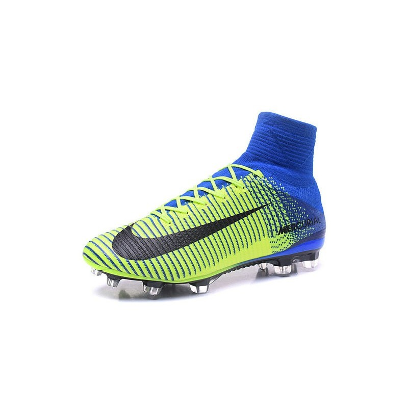 on sale b0cba e5764 ... New Soccer Cleats - New Nike Mercurial Superfly 5 FG Green B ... Nike  Mercurial Superfly 5 FG White Blue Black ...