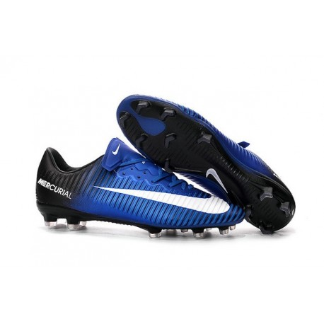 Shoes For Men - Nike Mercurial Vapor 11 FG Soccer Football Blue White Black