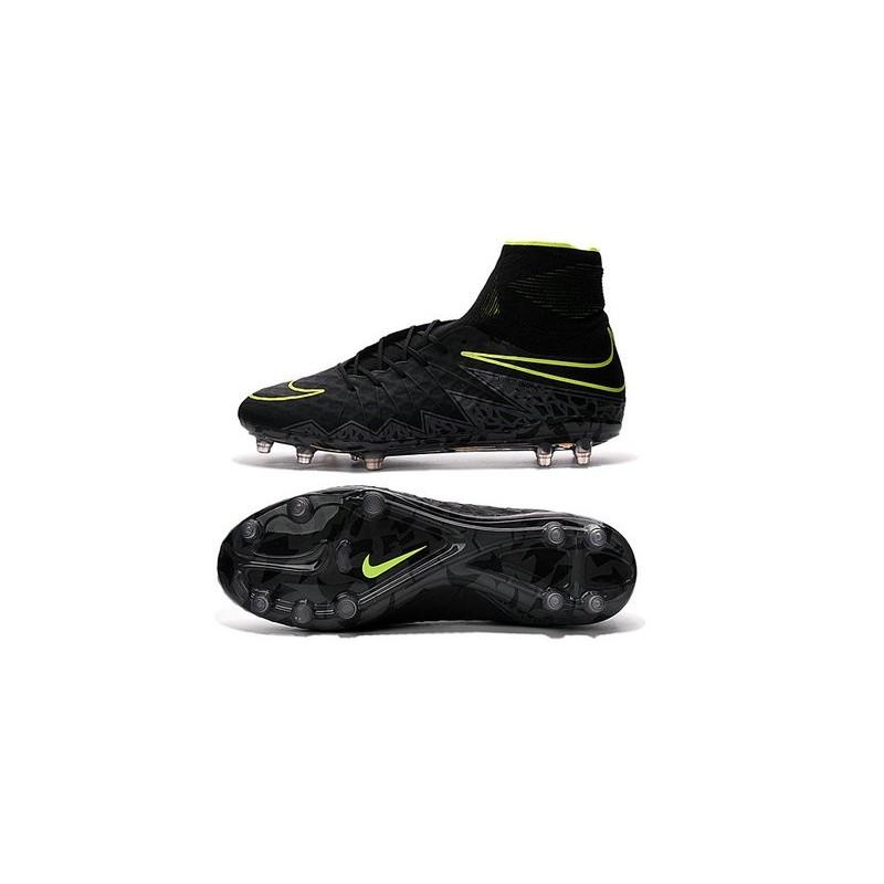 free shipping cf9dc e7a27 Nike Hypervenom 2 Phantom Men's Nike Football Cleats Black Volt