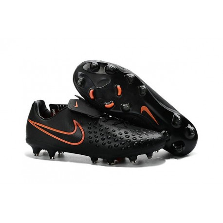 2016 Nike Magista Opus II Men's Firm-Ground Soccer Cleats Black Total Crimson