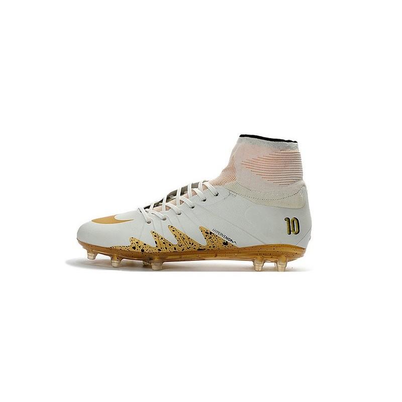 Nike Hypervenom 2 Phantom Men\u0027s Nike Football Cleats Neymar x Jordan White  Gold