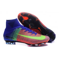 New Soccer Cleats - New Nike Mercurial Superfly 5 FG Red Blue Volt
