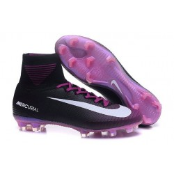 New Soccer Cleats - New Nike Mercurial Superfly 5 FG Black Violet White