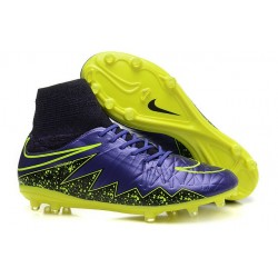 Nike Hypervenom 2 Phantom Men's Nike Football Cleats Violet Volt Black