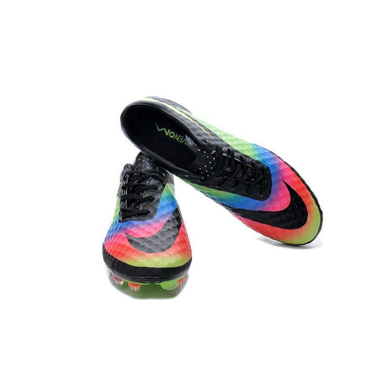 online store 539ea 3748f ... netherlands nike hypervenom phantom fg soccer cleats mens shoes neymar  premium black green pink blue volt
