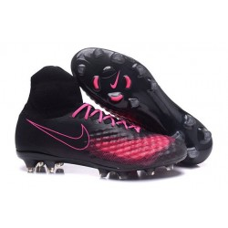 Nike Magista Obra Men's Nike Football Cleats Black Pink