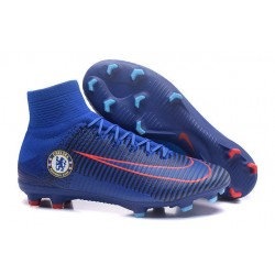 New Soccer Cleats - New Nike Mercurial Superfly 5 FG Chelsea FC Blue Orange