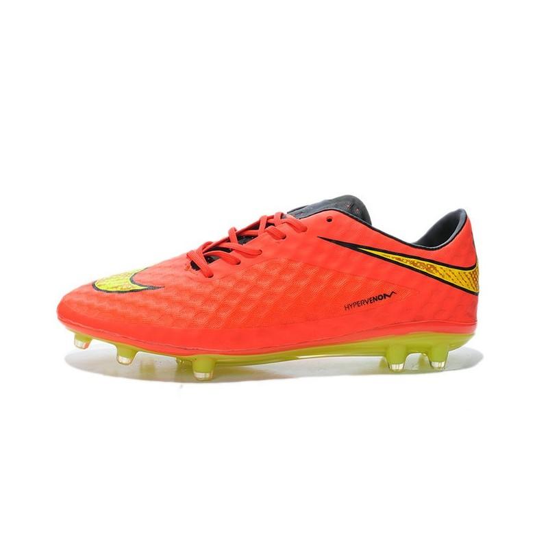 dac17cb83 ... nike hypervenom phantom fg soccer cleats mens shoes fifa world cup  brazil crimson volt hyper punch