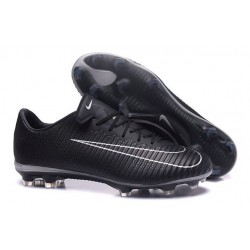 New Football Boots - Nike Mercurial Vapor 11 FG Black White