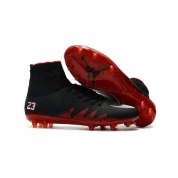 Nike Hypervenom 2 Phantom Men's Nike Football Cleats Jordan Black Red White